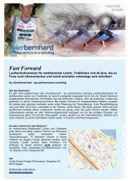 Fast Forward - Tempo-Sport AG