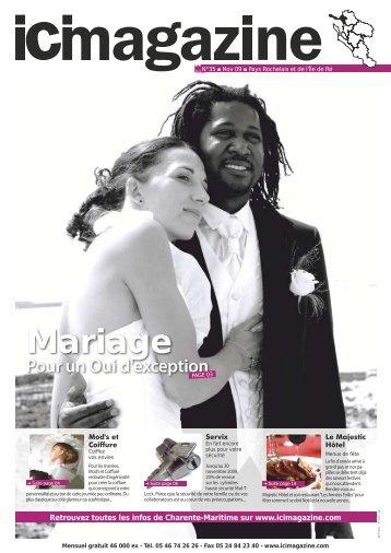 Mariage Pour un Oui d'exception - Magazine - Pays de l'Île de Ré ...