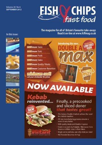 FCFF Sept 2012.indb - Fish Chips & Fast Food Magazine