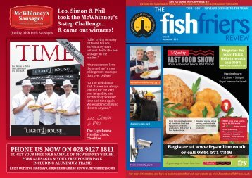 Sept 2011 - Issue 6 - National Federation of Fish Friers