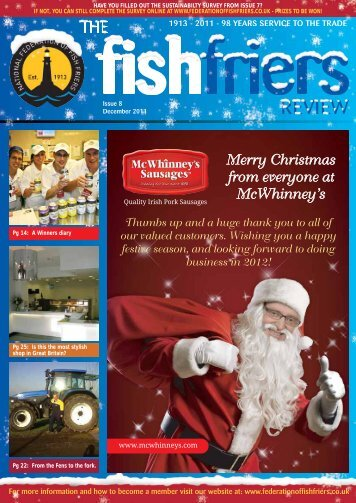 Dec 2012 - Issue 8 - National Federation of Fish Friers