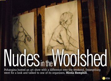 Nudes Woolshed - Swampthing