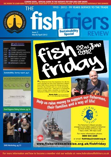Fish friers Review - Mar / Apr 2012 - Issue 2 - National Federation of ...