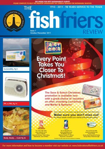 Fish friers Review - Oct / Nov 2011 - Issue 7 - National Federation of ...