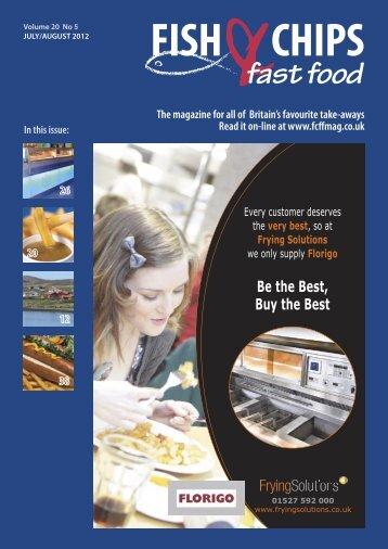 FCFF JulAug 2012.indb - Fish Chips & Fast Food Magazine