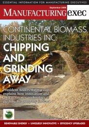 Chipping and grinding away - Continental Biomass Industries, Inc.