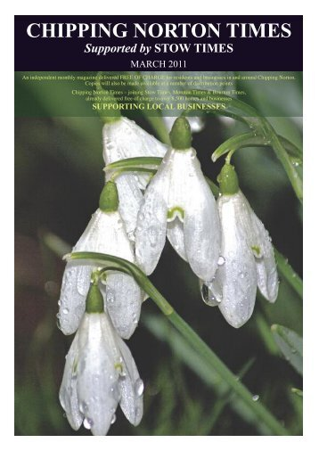 Issue 6 - March 2011 (PDF - Chipping Norton Times