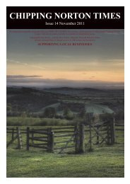 Issue 14 - November 2011 (PDF - Chipping Norton Times