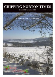 Issue 15 - December 2011 (PDF - Chipping Norton Times
