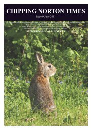 Issue 9 - June 2011 (PDF - Chipping Norton Times