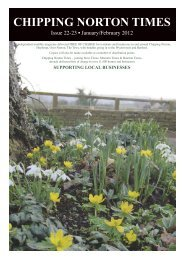Chipping Norton Times - Issue 16/17 - January-February 2012 (PDF)