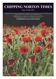 Issue 10 - July 2011 (PDF - Chipping Norton Times
