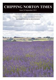 Issue 24 - September 2012 (PDF) - Chipping Norton Times