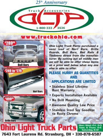 Superior 25year Flyer.pdf   Ohio Light Truck Parts Co. Inc. Nice Look