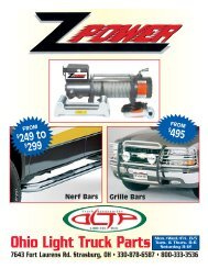 Catalog - Ohio Light Truck Parts Co. Inc.