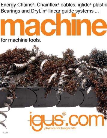 Heavy Duty Plastic brochure: application examples - Igus