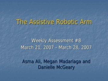 Week 8: March 21, 2007