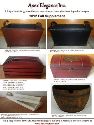 Ceramics Catalogue - Apex Elegance