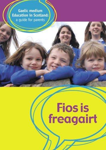 Fios is Freagairt (4MB cruth PDF)