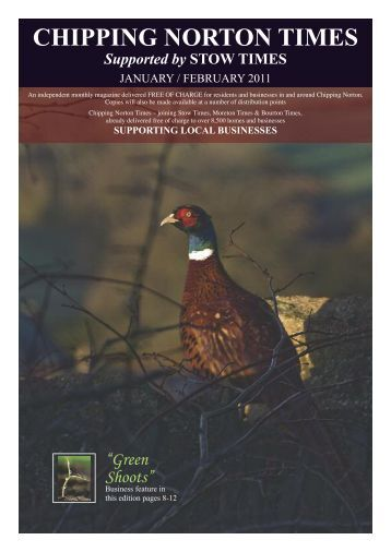 Chipping Norton Times - Issue 4/5 - January-February
