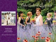 Cherished Events - Minneapolis Park and Recreation Board