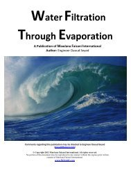 Download a Remarkable eBook on Water Filtration - Mawlana Faizani