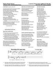 The Antigo Silt Loam Song