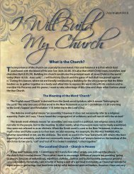 July 2012 - I Will Build My Church (PDF) - Kim Clement