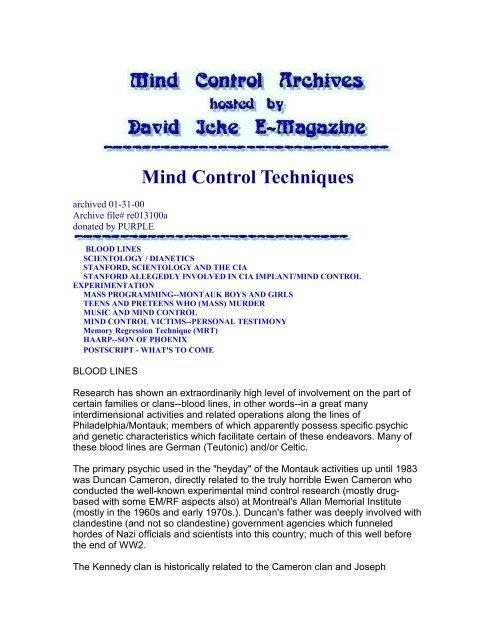 Programming pdf mind