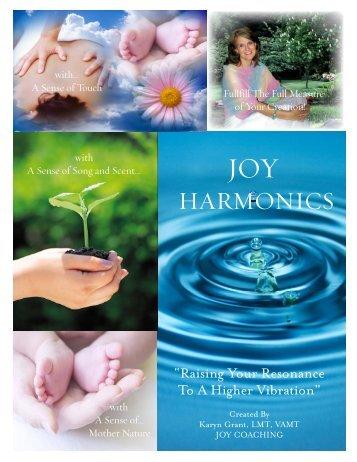HARMONICS - Cherishing Place