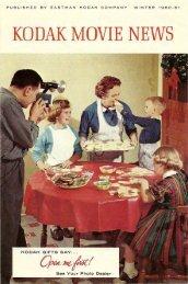 Kodak Movie News; Vol. 8, no. 4; Winter 1960-61