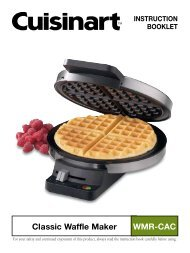 Classic Waffle Maker WMR-CAC - Cuisinart