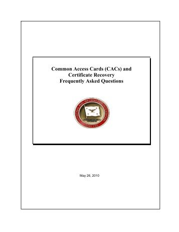 Army Training and Certification Tracking System (ATCTS ... - CAC