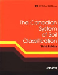 The Canadian System of Soil Classification, 3rd Edition - Carleton ...