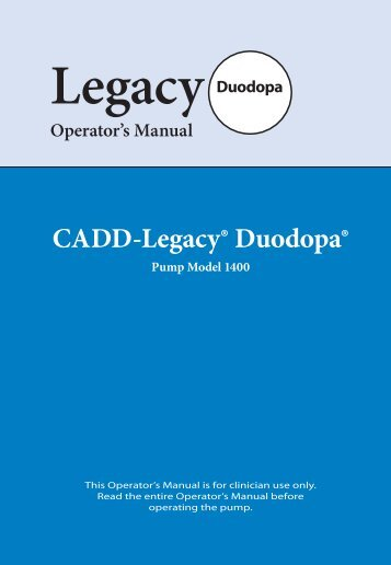 Legacy - Information on Duodopa from Abbott Healthcare
