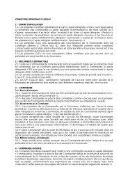 CONDITIONS GENERALES D'ACHAT - Faurecia
