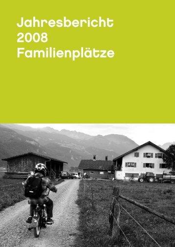 Jahresbericht 2008 Familienplätze - Stiftung Terra Vecchia