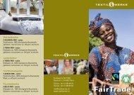FairTrade Flyer - Textilwerke AG TWB