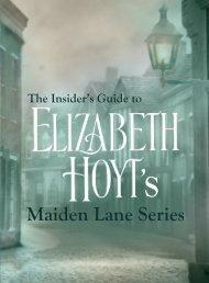 Maiden Lane Series - Elizabeth Hoyt
