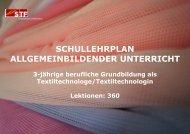 Neu in der Arbeitswelt - Schweizerische Textilfachschule STF