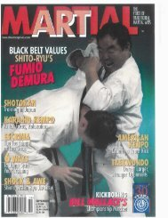 Martial Arts Magazine - Sierra Jujitsu and Karate
