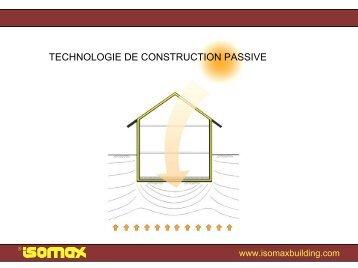 Technologie de ventilation à conduite double - Isomax - Terrasol