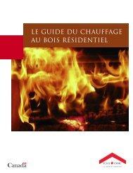 Le guide du chauffage au bois résidentiel - SCHL