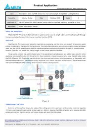 DVP-PLC Application Examples of Programming     - Delta