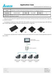 DVP-PLC Application Examples of Programming     - Delta Electronics
