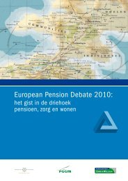 European Pension Debate 2010: