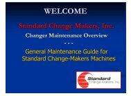 Changer Maintenance Overview - Standard Change