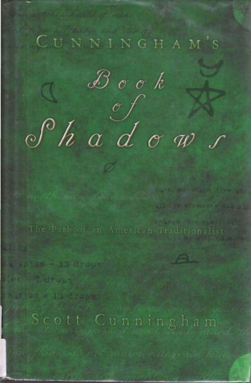 Scott Cunningham's Book of Shadows - Austin Pagan