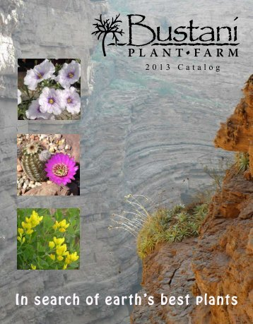 Download Catalog - Bustani Plant Farm