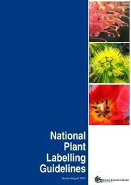 Guidelines - Nursery & Garden Industry Queensland